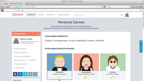 Good.Co Personal Canvas