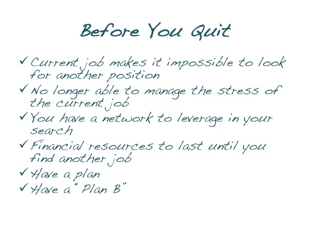 B4 you Quit