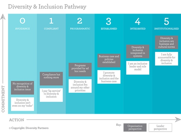 Diversity and Inclusion Continuum